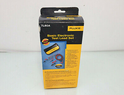 Fluke Tl80a Basic Electronic Test Lead Set New