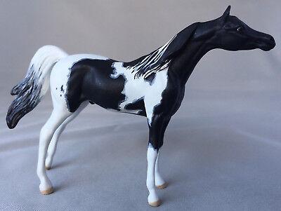 Custom CM Peter Stone Chips Pintabian model horse