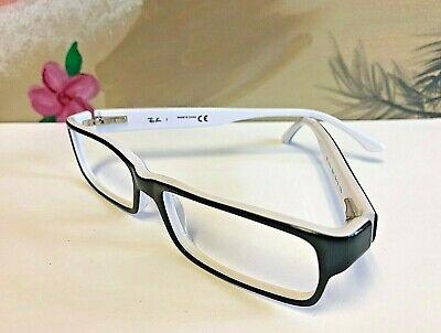 Nice Ray-Ban Brille Schwarz & Weiß Rahmen RB 5114 2097 (ohne Linse) 52-16 135