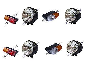 Belarus Tractor Complete Set Of Lighting 8pcs 50528082500800900