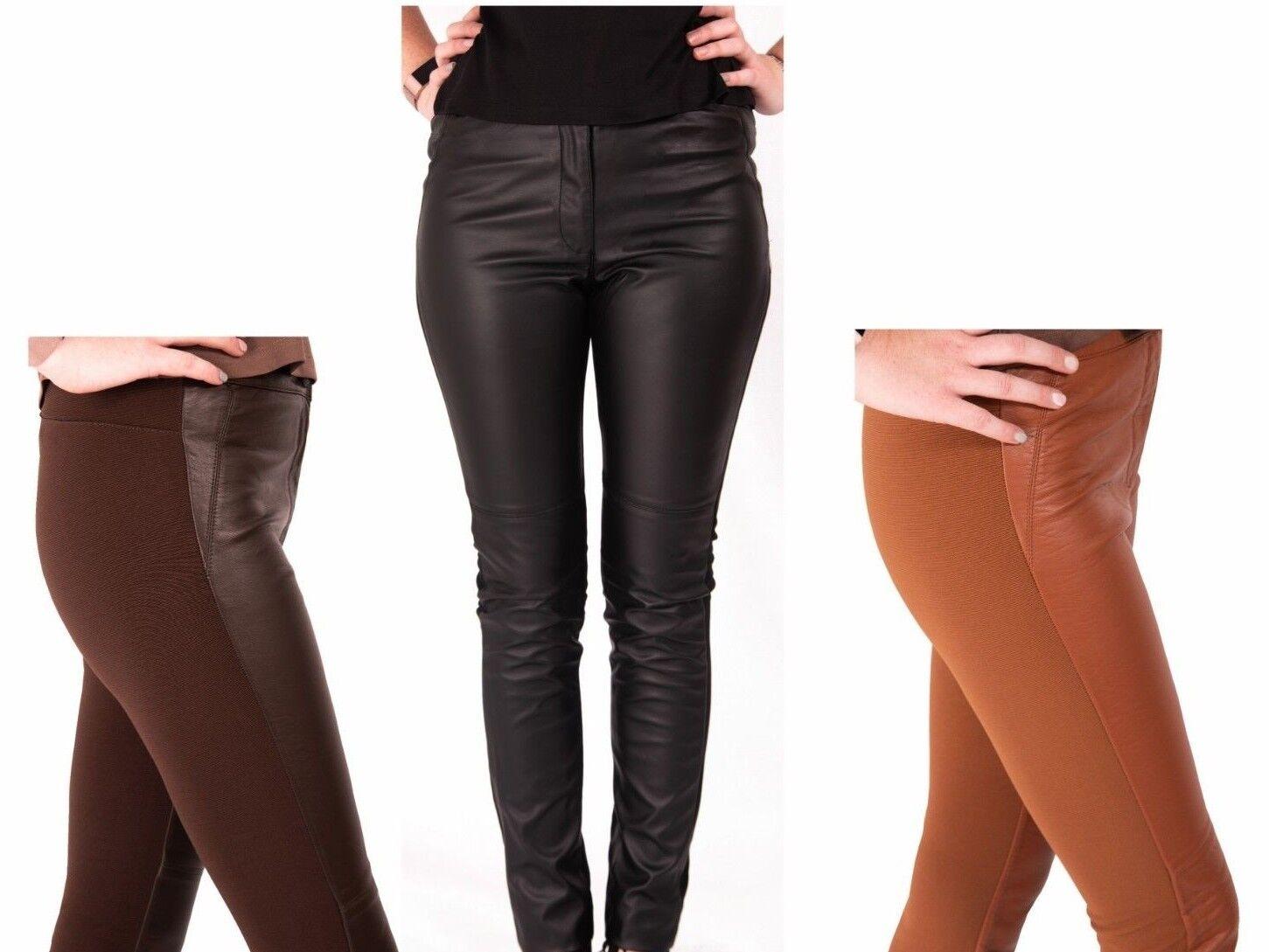 neînvins x en-gros online magazin oficial Leather Look Leggings Pantaloni Donna H&M i leggins 6-10 NUOVA Moda Skinny  | eBay