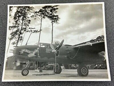 WWII US Army Air Force B-25 Mitchell Aircraft