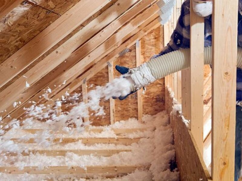 Attic Fiber-Glass Blown-In Insulation Services in Dallas