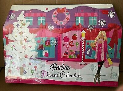 BARBIE 2008 ADVENT CALENDAR PLAYSET New