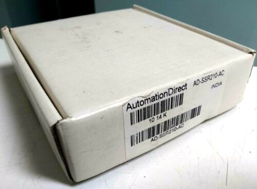 Automation Direct AD-SSR210-AC Solid State Relay 90-280VAC 24-280V 10A Outpt NEW