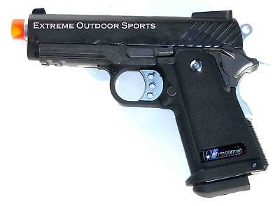 WE airsoft blow back gas pistol 3.8 Baby Hi-capa