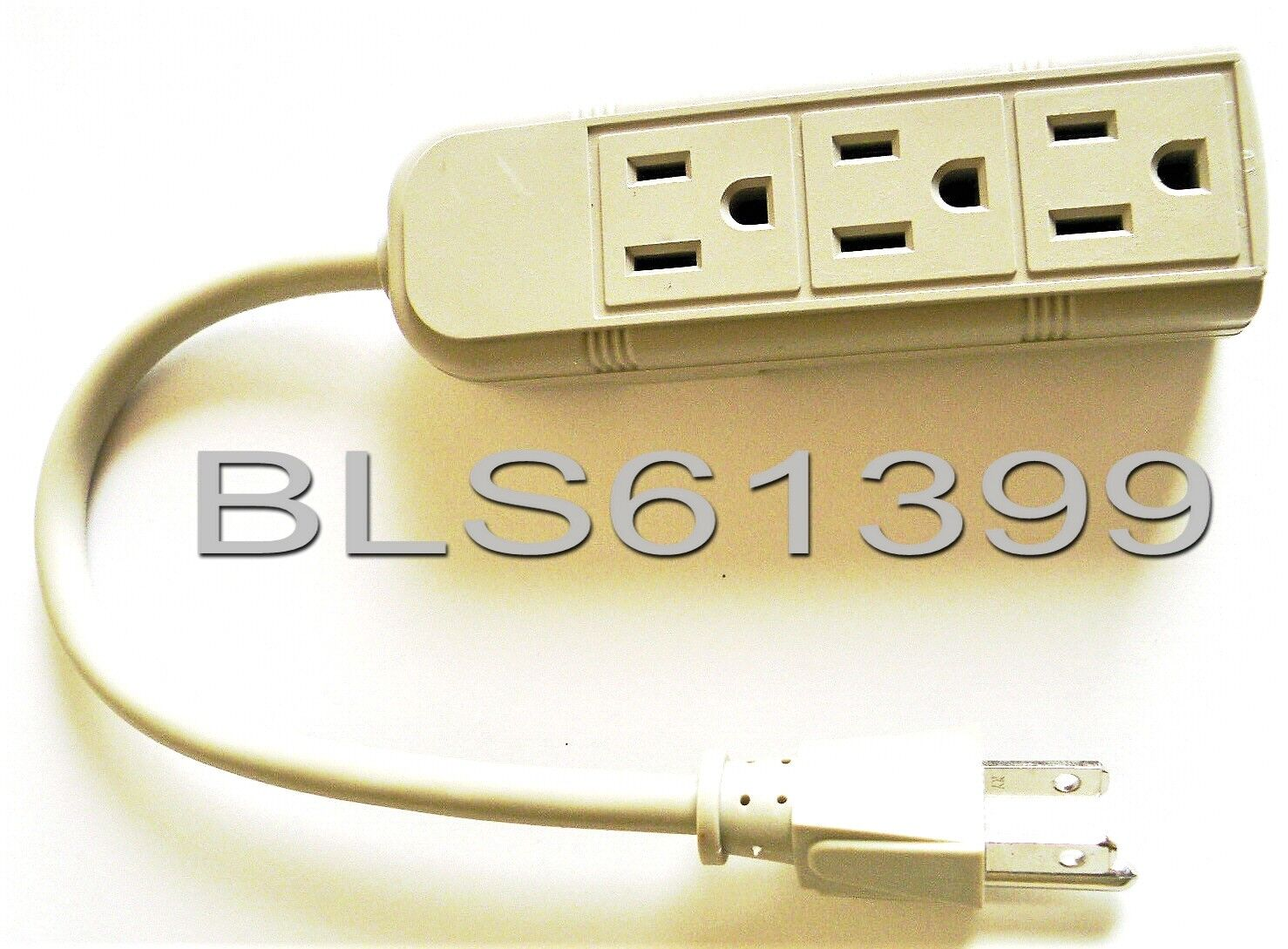 3 Outlet Power Strip With - UL Listed