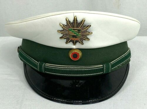 Vintage German Police Dress Hat