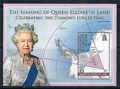 British Antarctic 2013 Queen Elizabeth Land MS SG 595 MNH