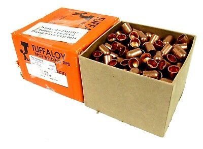 New Box Of 250ea Tuffaloy Tp-25-b Dome Nose Spot Welding Tip 372421-0 Tp25b