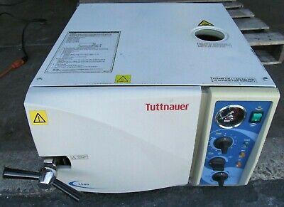 Tuttnauer 2540m Dental Medical Autoclave-steam Sterilizer 120v