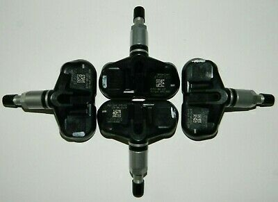 NEW Set of 4 Genuine OEM Honda TPMS Tire Pressure Sensor 42753-SWA-A03  PMV-108M