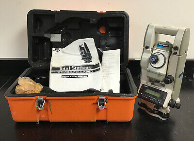 Nikon Top Gun Dtm-a20 Lg Total Station Land Surveying Equipment W Case