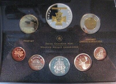 2006 Canada 8 Coin Proof Set in Case, Coa & Box   ** FREE U.S SHIPPING **