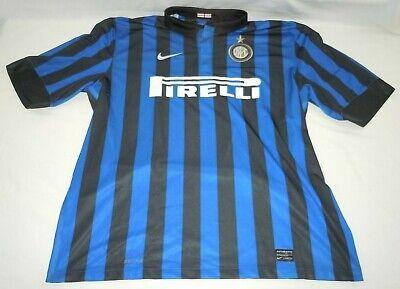 Inter Milan Club Jersey XXL Nike Dri-Fit 2011-2012 Authentic Javier Zanetti #4 ()