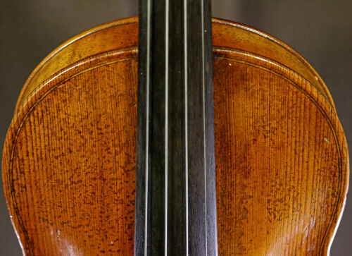 FINE BAROQUE Antique OLD BOHEMIAN VIOLIN - LISTEN to the Video!