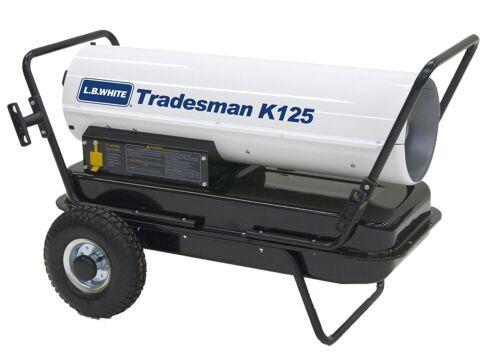 LB White Tradesman K125 Heater 125,000 BTUH, Kerosene, # 1 or # 2 Fuel
