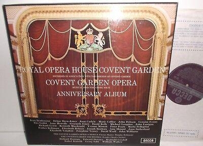 SET 392-3 Royal Opera House Covent Garden Opera Anniversary Album Solti WB 2LP
