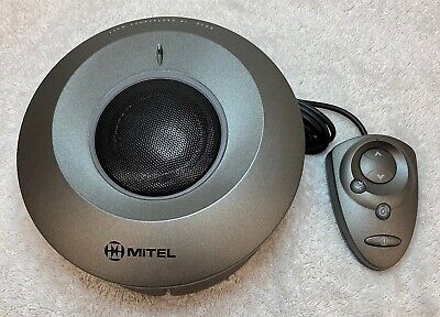Mitel 5310 Ip Conference Saucer 50004459 And Brdm Mouse Controller 50001543