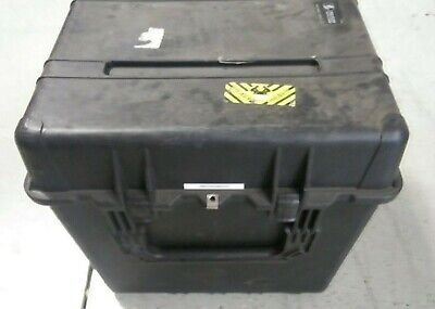 Pelican Model 0370 Storage Case 24 Cube W Foam Inserts..free Shipping