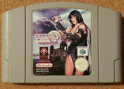 Xena Warrior Princess N64 Nintendo N64 - ULTRA RARE GAME 99p START