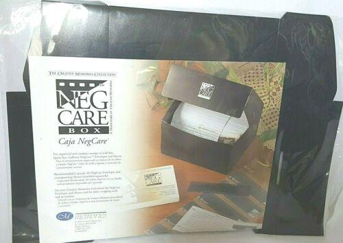 NEW Creative Memories NEG CARE BOX Photo Storage Case