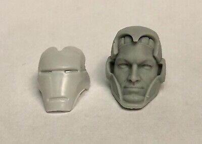 Marvel Legends ML 1:12 Scale 6in Modern Beast Custom Resin Head