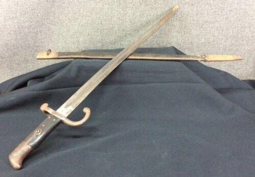 Antique GEBR WEYERSBERG Solingen German Bayonet w/Scabbard M1867~ Unique find!