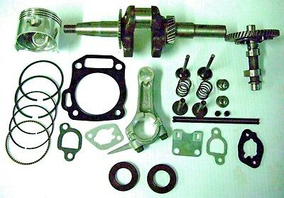 Generator Engine Rebuild Kit Gasket Valve Piston Rod Seal Rings 168