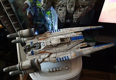 STAR WARS Rogue One U-WING ship Vintage Collection Style CUSTOM WEATHERED + Box