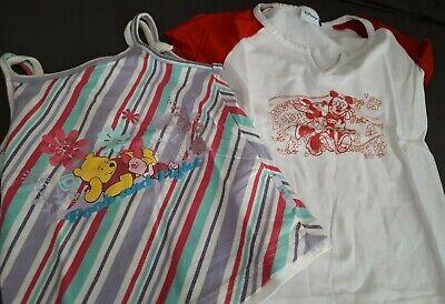 Kinder Kleidung Mädchen, Paket, Disney und Palomino, Gr. 110/116