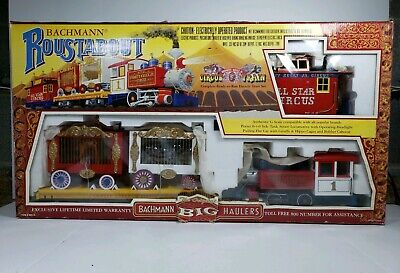 Used, Bachmann Roustabout Circus G Scale Electric Train Set #90019 - New Open Box for sale  Natural Bridge Station