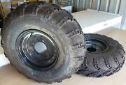 ATV 23x7-10 Tyres fitted with Metal Rims (1 Pair = 2) Attadale Melville Area Preview