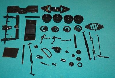 1965 Chevrolet Corvette Stingray Monogram 1/8 Chassis Wheel Suspension Parts.