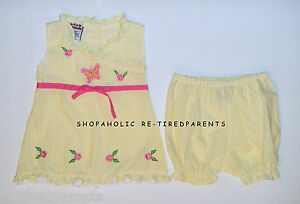 MY-MICHELLE-DRESS-PANTY-SET-YELLOW-INFANT-SZ-24-MO-NEW-22