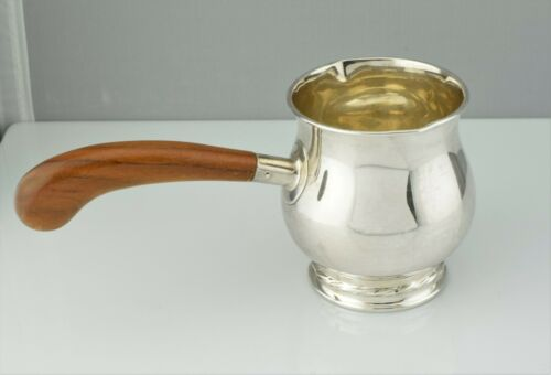 Towle Sterling #172 Pipkin Brandy Warmer with Wooden Handle