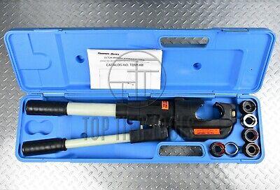 Thomas Betts Tbm14m 14 Ton Hydraulic Crimper Compression Tool U-die