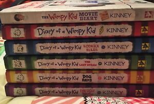 Diary of a wimpy kid books
