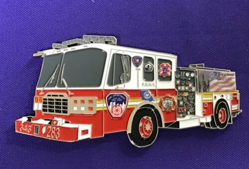 Spirit of Louisiana Fire Apparatus Challenge Coin NEW