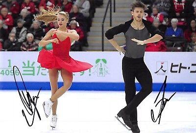 Alexandra STEPANOVA / Ivan BUKIN - RUS - Eiskunstlauf - Foto signiert (4)