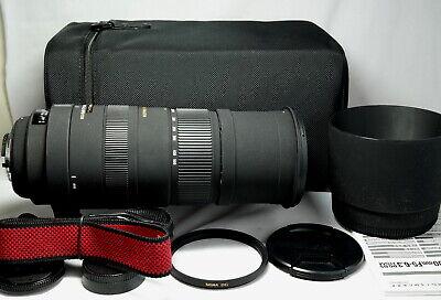 Sigma 150-500mm F/5-6.3 APO HSM SLD DG  OS Lens For Nikon full frame