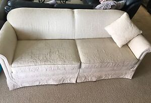 1917 Antique Couch Reupholstered  in High End Fabric