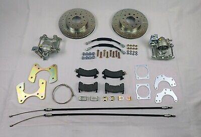 chevy belair rear disc brake conversion 210 150 series includes parking brake