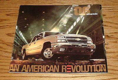 Original 2006 Chevrolet Truck Silverado Deluxe Sales Brochure 06 Chevy 06 Chevrolet Silverado Truck
