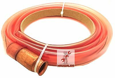 6ft Self-priming Copper Jiggler Pump Transfer Fuel Water Oil Paint Siphon Hose