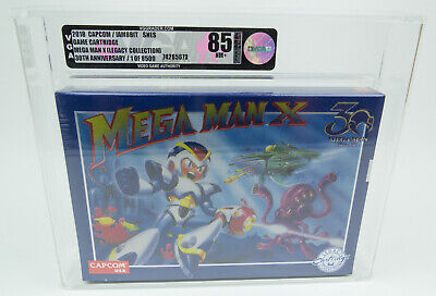 Super Nintendo *Mega Man X 30th Anniversary* SNES VGA 85 Near Mint+...