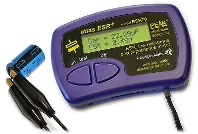 ESR70 Atlas ESR PLUS - Capacitance and Equivalent Series Resistance Meter