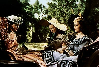 GONE WITH THE WIND - VIVIEN LEIGH 12 OAKS - CANDID OUT TAKE PHOTO - RARE!
