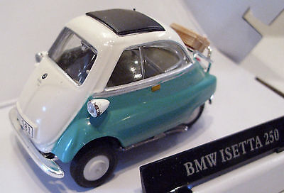 Cararama 4 12380 Bmw Isetta 250 Bubble Car Green 1 43 Scale New Boxed T48 Post