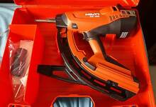 Hilti GX 120 Gas-Actuated Fastening Gun Canley Vale Fairfield Area Preview